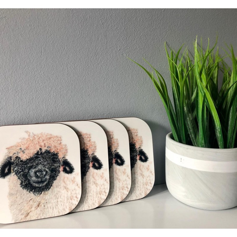 Madge, Pack of 4 Coasters
