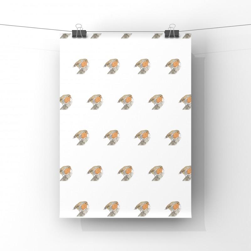 'Rockin Robin' Cotton Tea Towel