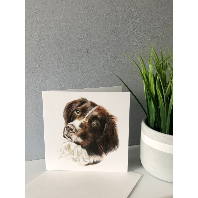 Alfie Greetings Card