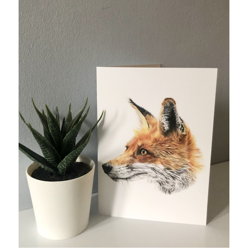 Mr Fox Greetings Card