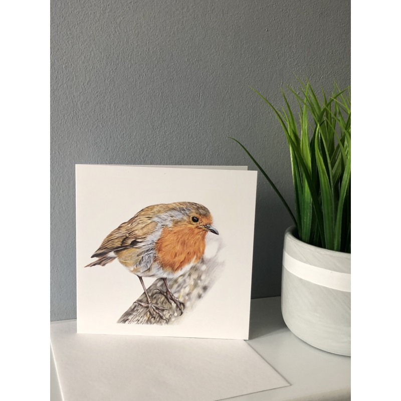 Rockin Robin Greetings Card