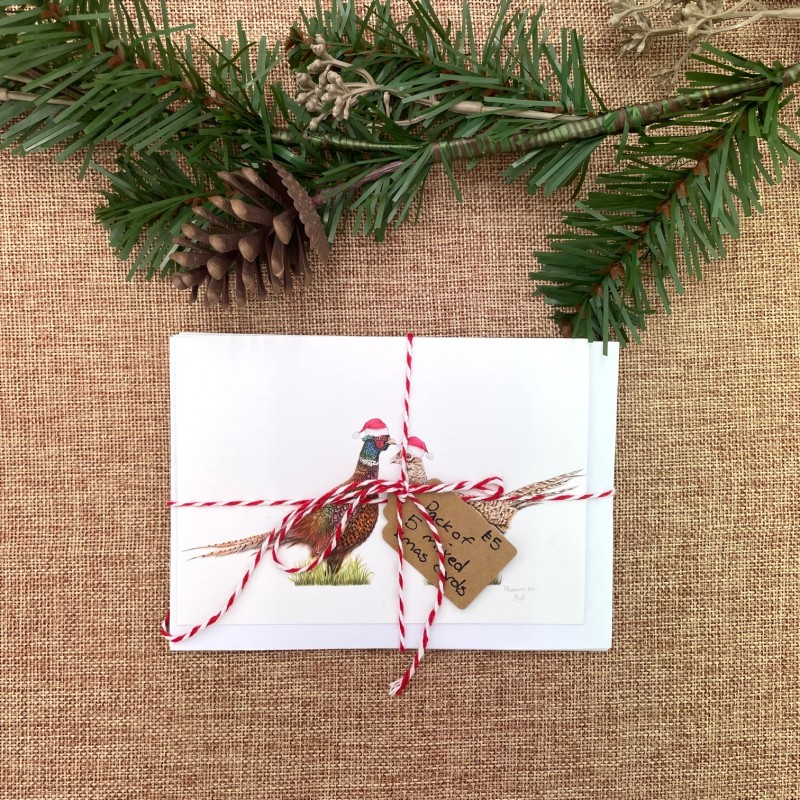 Christmas Cards, Pack of 5