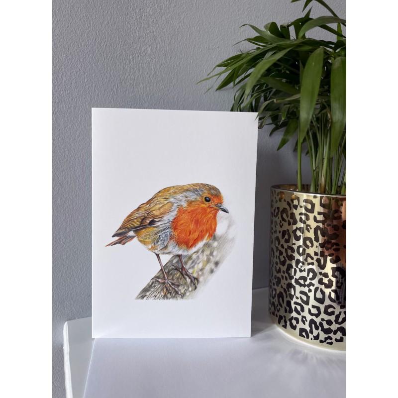 Rockin Robin Greetings Card
