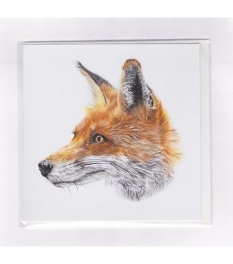 Mr Fox Greetings Card