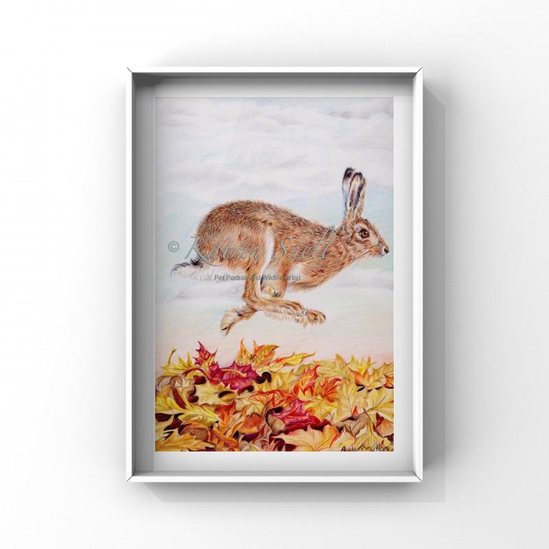 'Autumn Hare'