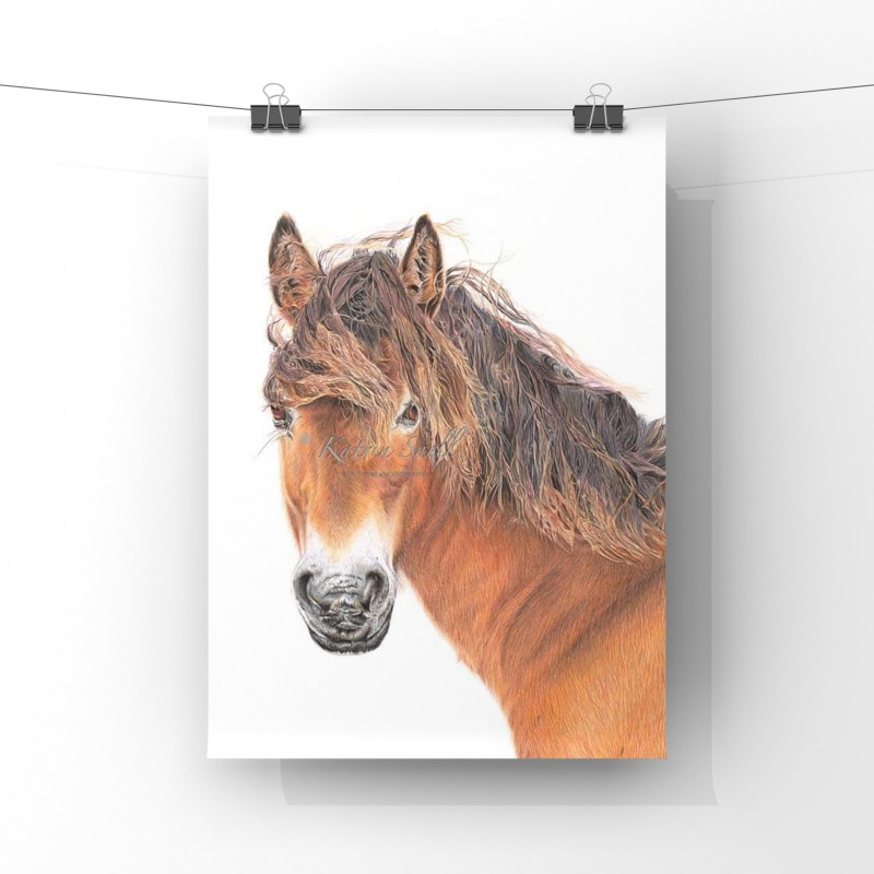 Breeze, A4 Limited Edition Giclee Print (unmounted)