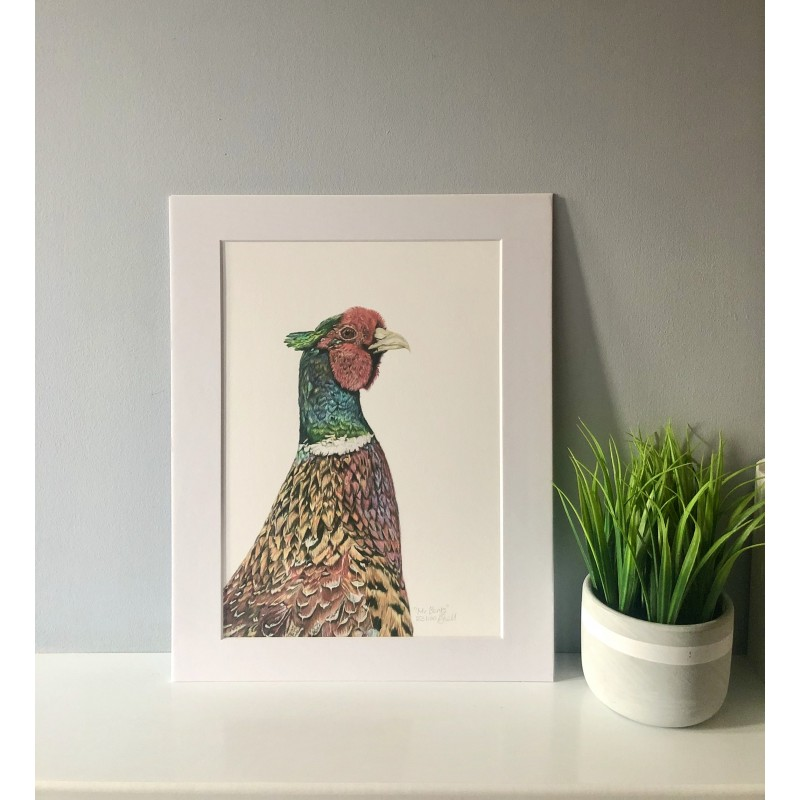 Mr Banks, A4 Limited Edition Giclee Print (Mounted)