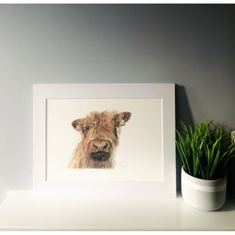Boop, A4 Limited Edition Giclee Print (Mounted)