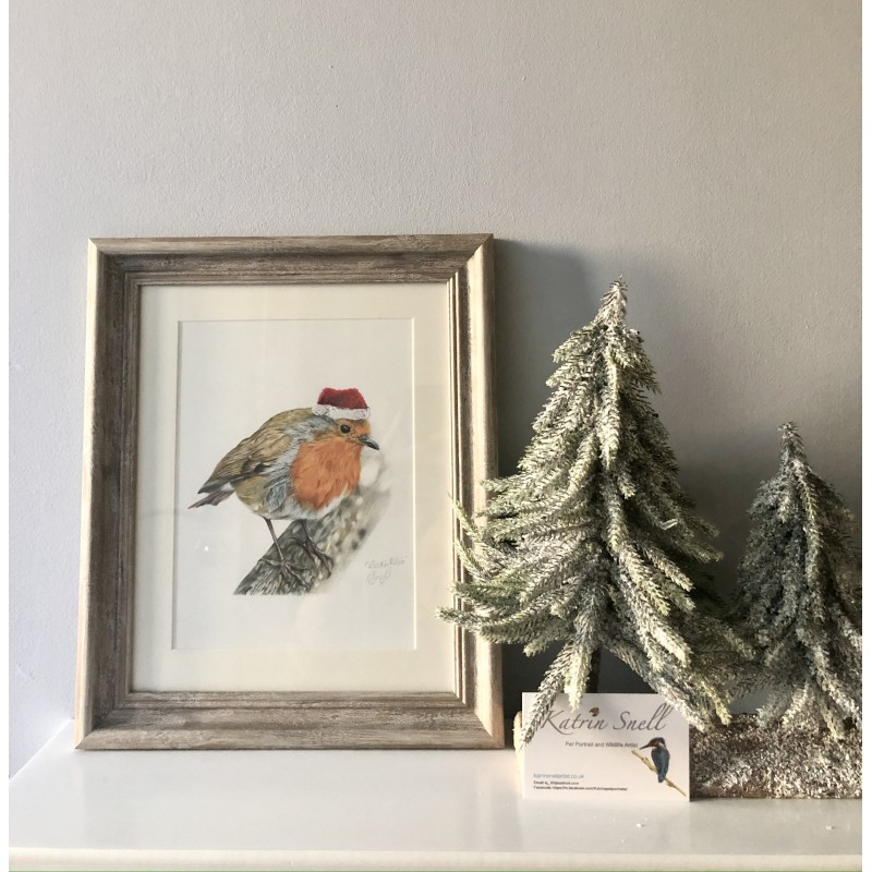 Rockin Robin, 8x6 Framed Print